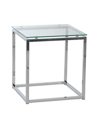 Eurostyle Sandor Side Table, Clear