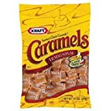 Kraft Caramels Traditional - 9.5 oz. bag, 8 per case