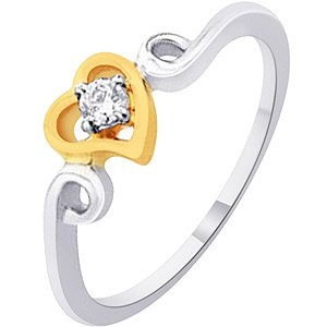 D'damas Diamond Ladies Ring DDR03075 | Color Yellow