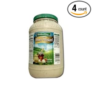 Amazon.com : Hidden Valley Golden Honey Mustard Dressing, 1 Gallon