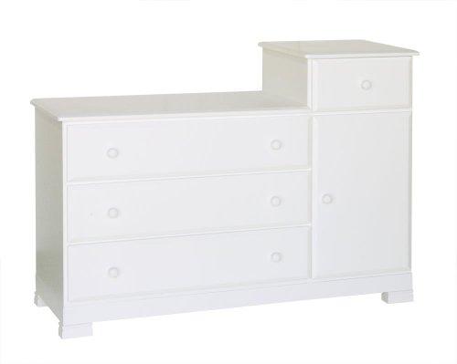 Davinci Kalani Combo Dresser - White front-626168