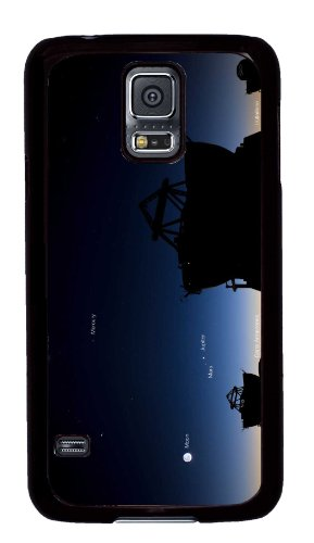 Samsung Galaxy S5 Pc Black Hard Case Telescope