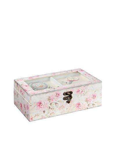 Chateau chic Caja de Costura Crema/Rosa