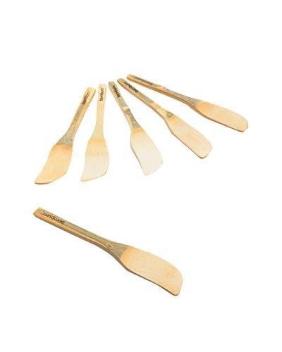 Bambum Set Cuchillo Mantequilla 6 Uds. Forre B2570  Beige