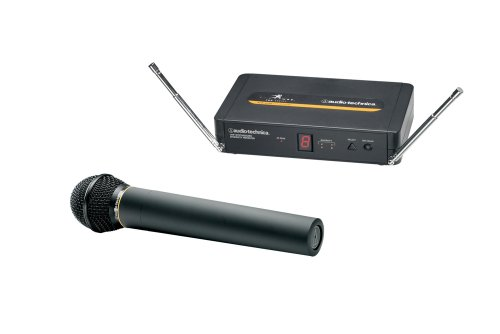 Audio-Technica 700 Series 702 Vocal Unipak Frequency-Agile Diversity Uhf Wireless System