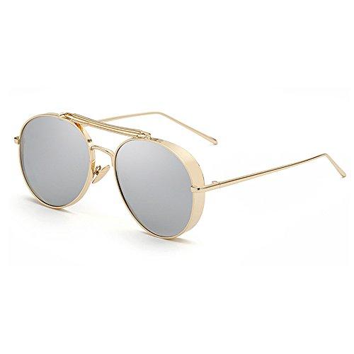 Attractive Fashion Aviator Polarized Sunglasses Women Brand Designer UV400 Shades Golden Eyewear Female Metal Frame Pilot Sun Glasses for Men New Oculos