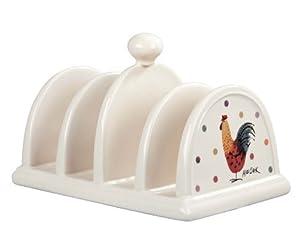 Alex Clark Rooster Toast Rack, Stoneware