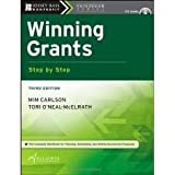 img - for Winning Grants Step by Step (The Jossey-Bass Nonprofit Guidebook Series) 3th (third) edition book / textbook / text book