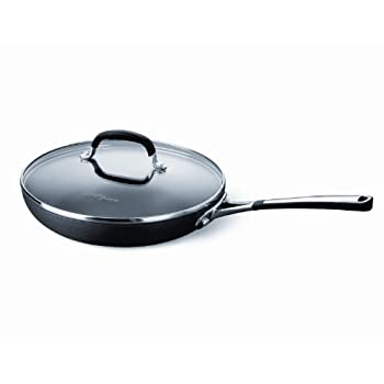Simply Calphalon Nonstick 12-Inch Covered Omelette Pan