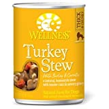 Wellness Canned Dog Food Turkey Stew with Barley and Carrots -- 12.5 oz