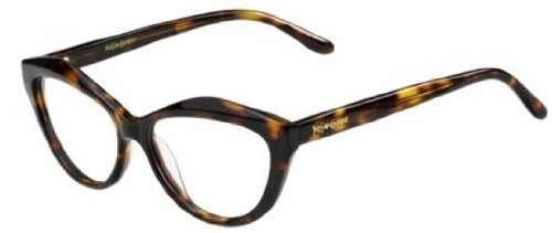 Yves Saint LaurentYves Saint Laurent 6370 Eyeglasses-0086 Dark Havana-53mm