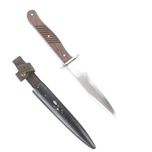 German WWI Trench Knife & Original WWI Scabbard
