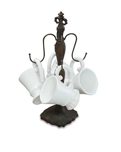 Isaac Mizrahi Chateau Fleur Mug & Tree Set