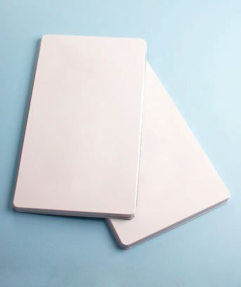 Set Of 2 White Electric Burner Covers