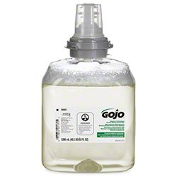 GOJO 566502 Foam Soap, Commercial-Grade GoJo TFX Foam Soap Refills, Attacks Dangerous Pathogens (2/cs)