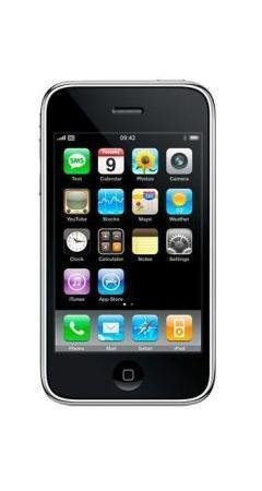 Apple IPhone Black 8GB Unlocked Sim Free Mobile Phone