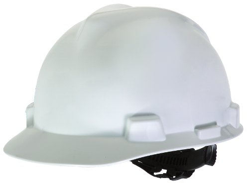 MSA Safety Works 818066 Hard Hat, White