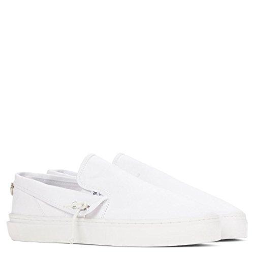 Clear Weather Lakota Slip On Shoes - White Canvas - 10 Men's / 11.5 Women's