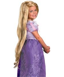 Disney's Long Blonde Princess Tangled Rapunzel Wig - Child