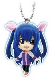 "Bandai Fairy Tail Gashapon Mascot Swing Key Chain Figure ~1.5"" - Wendy Marvell - 1"