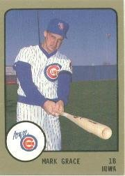 1988 Iowa Cubs ProCards #539 Mark Grace by ProCards