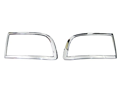 Chrome Rear Tail Fog Light Lamp Cover Trim For Toyota Prado FJ120 2003-2009 (Toyota Prado Lights compare prices)