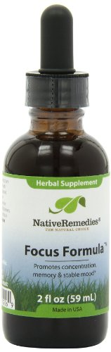 Native Remedies Focus Formula, 2 Fluid Ounce