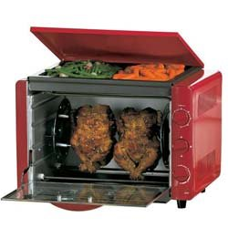 Countertop Oven Red : ... kitchen kitchen dining small appliances ovens toasters toaster ovens