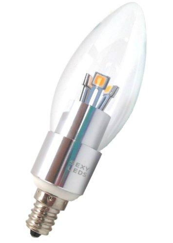 SEXY LEDS LED Candelabra 40w 320 Lumens E12 Base