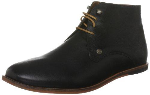 Frank Wright Mens Smith Desert Boots MFW024 Black 12 UK, 46 EU