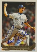 Rich DeLucia Seattle Mariners 1993 Topps Gold Autographed Hand Signed Trading Card. by Hall of Fame Memorabilia