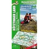Maiwald Karte Kötztinger Land Wanderkarte 1:35.000: Bad Kötzting, Blaibach, Miltach, Zandt - mit Infos auf der...
