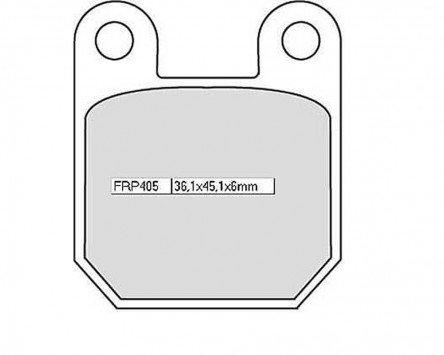 Kit/Pastiglie Ferodo FRP 405P