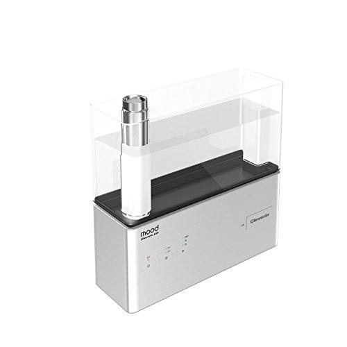 クレベリン LED搭載 mood超音波式加湿器 シルバー KMWQ-301C