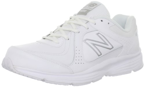New Balance Men'S Mw411 Health Walking Shoe,White,11.5 D Us