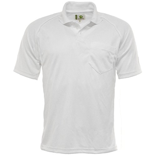 mens-100-polyester-tissu-respirant-bowling-t-shirt-blanc-demi-manches-pelouse-professionnel-saladier