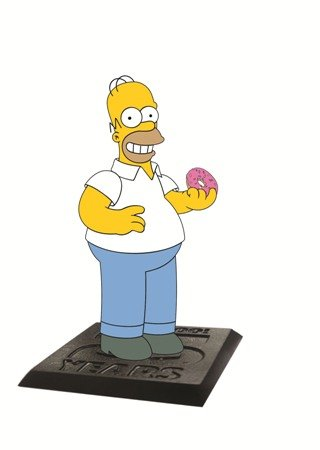 """Simpsons The Homer with Donut 2.75"""" PVC Action Figure"""