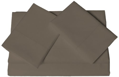 Tribeca Living Egyptian Cotton Sateen 600 Thread Count Deep Pocket Sheet Set, Twin X-Large, Steal