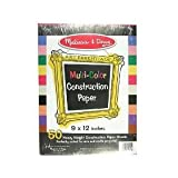 31hy9mPYUEL. SL160  Melissa & Doug Educational Toy MultiColor Construction Paper