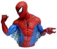 Marvel Piggy Bank / Bust Banks Spider-man/ag-1468 (japan Import) Picture