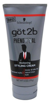 Schwarzkopf got2b Phenomenal Thickening Styling Cream, 6 oz