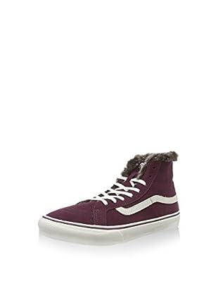 Vans Zapatillas abotinadas U Sk8-Hi (Ciruela / Blanco)