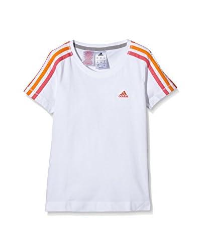 adidas T-Shirt Yg Ess Tee Mc Jr weiß 11-12 Jahre (146/152 cm)