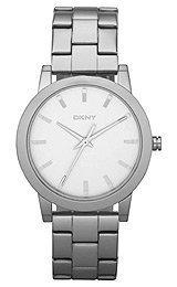 DKNY Glitz Silver-Tone Dial Women's Watch #NY8317