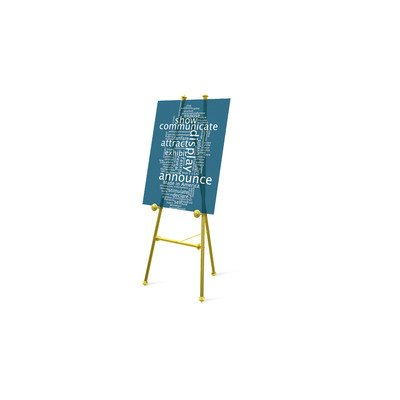 Baroque Display Easel Finish: Brass (classic)