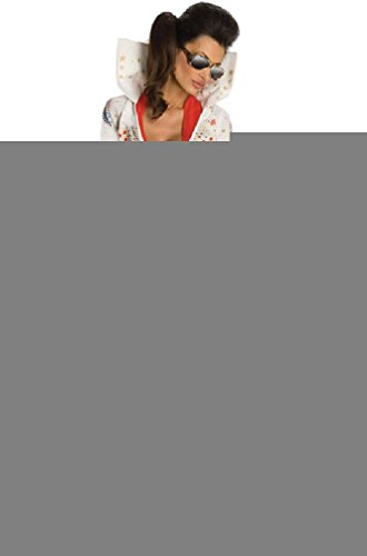 [8eighteen Secret Wishes Rock and Roll King Elvis Adult Costume] (Elvis Costumes For Dogs)