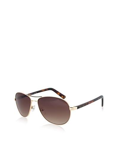 Calvin Klein CWR153S-743 Classic Aviator Sunglasses, Gold-Tone