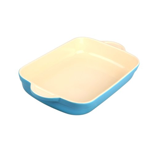 Denby Ota-573 Oven To Table Oblong Casserole/Lasagna, 3.1-Liter, Blue