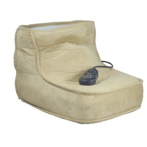 DIRECT SALES LUXURY FOOTWARMER ACHES PAINS FEET HEATED FOOT WARMER & 2 MASSAGE SETTINGS