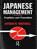 img - for Japanese Management: Tradition and Transition book / textbook / text book